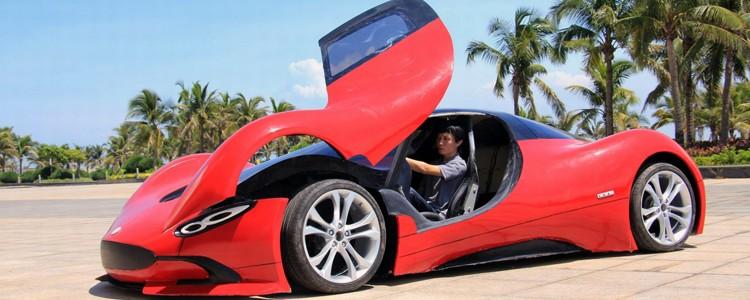 chinês carro elétrico